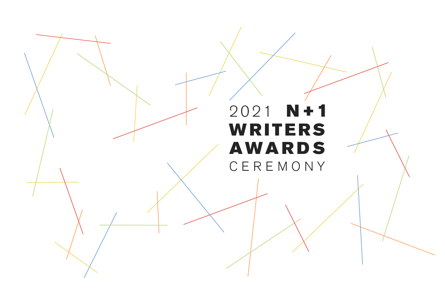 The 2021 Writers Awards Ceremony by n+1 Foundation